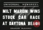 Image of car race Daytona Beach Florida USA, 1936, second 3 stock footage video 65675067246