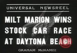 Image of car race Daytona Beach Florida USA, 1936, second 4 stock footage video 65675067246
