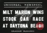 Image of car race Daytona Beach Florida USA, 1936, second 5 stock footage video 65675067246