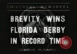 Image of Florida Derby Miami Florida USA, 1936, second 1 stock footage video 65675067255