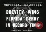 Image of Florida Derby Miami Florida USA, 1936, second 4 stock footage video 65675067255
