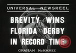 Image of Florida Derby Miami Florida USA, 1936, second 9 stock footage video 65675067255