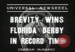 Image of Florida Derby Miami Florida USA, 1936, second 10 stock footage video 65675067255