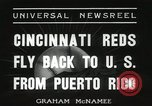 Image of Cincinnati Reds baseball team Miami Florida USA, 1936, second 2 stock footage video 65675067258