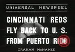 Image of Cincinnati Reds baseball team Miami Florida USA, 1936, second 5 stock footage video 65675067258