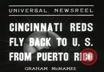 Image of Cincinnati Reds baseball team Miami Florida USA, 1936, second 6 stock footage video 65675067258