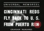 Image of Cincinnati Reds baseball team Miami Florida USA, 1936, second 8 stock footage video 65675067258