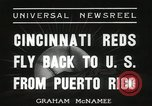 Image of Cincinnati Reds baseball team Miami Florida USA, 1936, second 10 stock footage video 65675067258