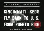 Image of Cincinnati Reds baseball team Miami Florida USA, 1936, second 11 stock footage video 65675067258