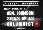 Image of General Johnson New York United States USA, 1935, second 1 stock footage video 65675067260