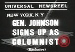 Image of General Johnson New York United States USA, 1935, second 4 stock footage video 65675067260