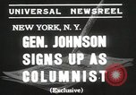 Image of General Johnson New York United States USA, 1935, second 5 stock footage video 65675067260
