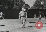 Image of Major League baseball teams in spring training Florida United States USA, 1935, second 11 stock footage video 65675067262