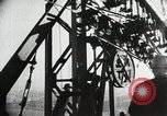 Image of Golden Gate Bridge United States USA, 1933, second 9 stock footage video 65675067271