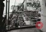 Image of Troop ships filled with infantry Pacific Theater, 1945, second 3 stock footage video 65675067285