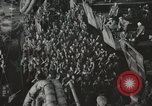 Image of Troop ships filled with infantry Pacific Theater, 1945, second 6 stock footage video 65675067285