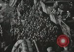 Image of Troop ships filled with infantry Pacific Theater, 1945, second 7 stock footage video 65675067285