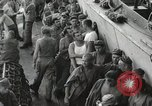 Image of Troop ships filled with infantry Pacific Theater, 1945, second 10 stock footage video 65675067285