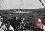 Image of Troop ships filled with infantry Pacific Theater, 1945, second 11 stock footage video 65675067285