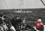 Image of Troop ships filled with infantry Pacific Theater, 1945, second 12 stock footage video 65675067285