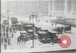 Image of New York Public Library, 5th Avenue and 42nd Street. Columbus Circle,  New York United States USA, 1915, second 2 stock footage video 65675067289