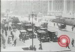 Image of New York Public Library, 5th Avenue and 42nd Street. Columbus Circle,  New York United States USA, 1915, second 3 stock footage video 65675067289