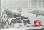 Image of New York Public Library, 5th Avenue and 42nd Street. Columbus Circle,  New York United States USA, 1915, second 5 stock footage video 65675067289