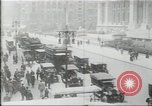 Image of New York Public Library, 5th Avenue and 42nd Street. Columbus Circle,  New York United States USA, 1915, second 6 stock footage video 65675067289
