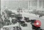 Image of New York Public Library, 5th Avenue and 42nd Street. Columbus Circle,  New York United States USA, 1915, second 7 stock footage video 65675067289