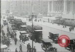 Image of New York Public Library, 5th Avenue and 42nd Street. Columbus Circle,  New York United States USA, 1915, second 8 stock footage video 65675067289
