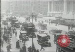 Image of New York Public Library, 5th Avenue and 42nd Street. Columbus Circle,  New York United States USA, 1915, second 11 stock footage video 65675067289