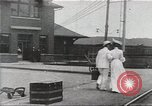 Image of city trains Pennsylvania United States USA, 1915, second 1 stock footage video 65675067291