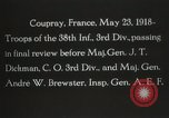 Image of 3rd Infantry Division Coupray France, 1918, second 6 stock footage video 65675067297