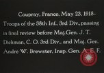 Image of 3rd Infantry Division Coupray France, 1918, second 7 stock footage video 65675067297