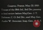 Image of 3rd Infantry Division Coupray France, 1918, second 10 stock footage video 65675067297