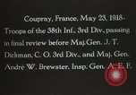 Image of 3rd Infantry Division Coupray France, 1918, second 12 stock footage video 65675067297