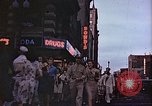 Image of V-J Day at 14th and F streets Washington DC USA, 1945, second 9 stock footage video 65675067303