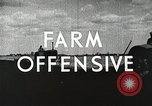 Image of farmers work Brooklyn New York City USA, 1944, second 9 stock footage video 65675067305