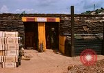 Image of artillery fortification Bien Hoa Vietnam, 1969, second 5 stock footage video 65675067361