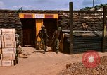 Image of artillery fortification Bien Hoa Vietnam, 1969, second 7 stock footage video 65675067361