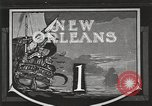 Image of origin of city New Orleans Louisiana USA, 1923, second 1 stock footage video 65675067363