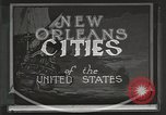 Image of origin of city New Orleans Louisiana USA, 1923, second 10 stock footage video 65675067363