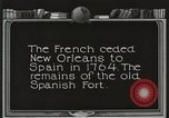 Image of Old Spanish Fort of New Orleans New Orleans Louisiana USA, 1923, second 2 stock footage video 65675067364