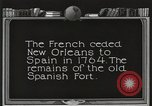 Image of Old Spanish Fort of New Orleans New Orleans Louisiana USA, 1923, second 3 stock footage video 65675067364