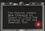 Image of Old Spanish Fort of New Orleans New Orleans Louisiana USA, 1923, second 4 stock footage video 65675067364