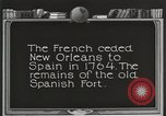 Image of Old Spanish Fort of New Orleans New Orleans Louisiana USA, 1923, second 5 stock footage video 65675067364