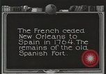 Image of Old Spanish Fort of New Orleans New Orleans Louisiana USA, 1923, second 6 stock footage video 65675067364