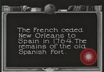 Image of Old Spanish Fort of New Orleans New Orleans Louisiana USA, 1923, second 8 stock footage video 65675067364