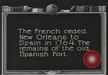 Image of Old Spanish Fort of New Orleans New Orleans Louisiana USA, 1923, second 9 stock footage video 65675067364