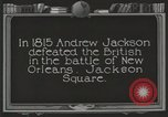 Image of old buildings New Orleans Louisiana USA, 1923, second 3 stock footage video 65675067367